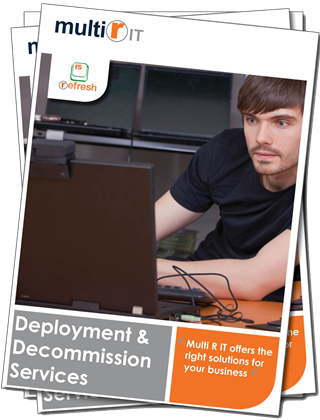 IT Deployment and decommission brochure